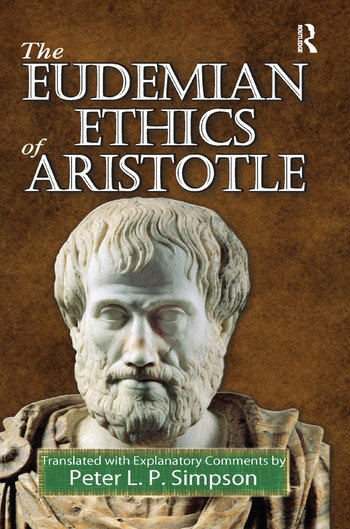The Eudemian Ethics of Aristotle book cover
