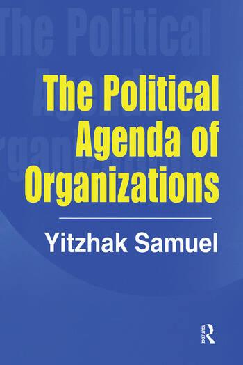 The Political Agenda of Organizations book cover