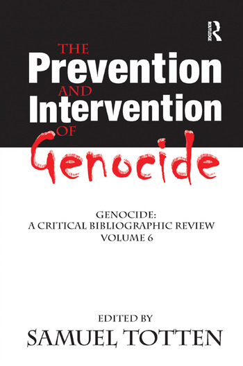 The Prevention and Intervention of Genocide book cover