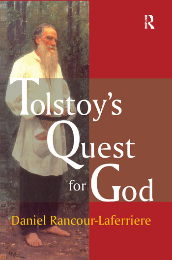 Tolstoy's Quest for God book cover