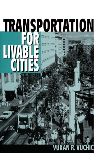 Transportation for Livable Cities book cover