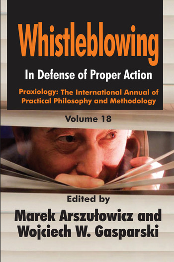 Whistleblowing In Defense of Proper Action book cover
