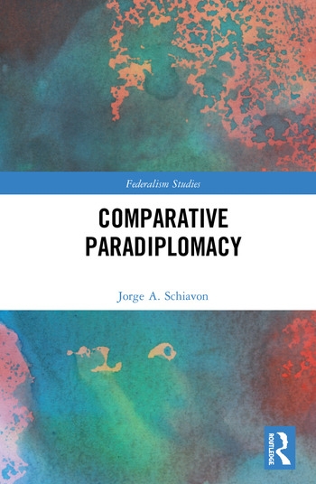 Comparative Paradiplomacy book cover