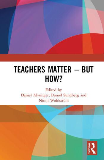Teachers Matter – But How? book cover