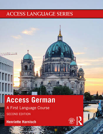 Access German A First Language Course book cover