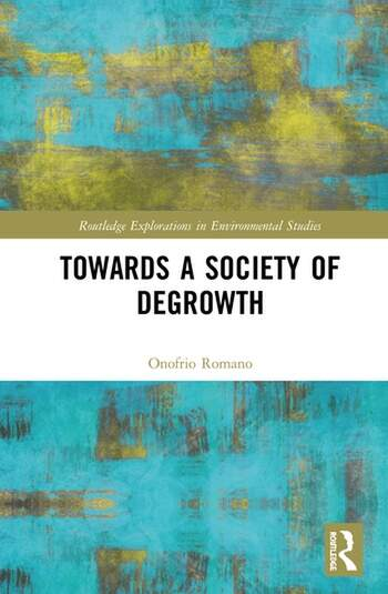 Towards a Society of Degrowth book cover