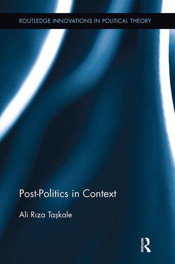Post-Politics in Context book cover