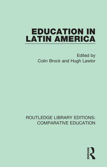 Education in Latin America book cover