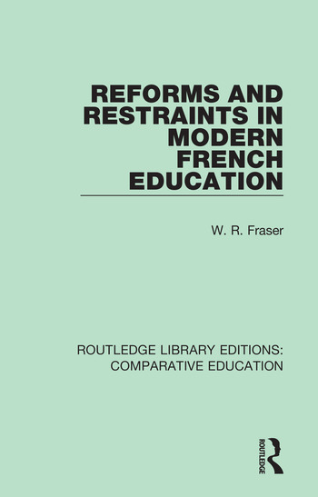 Reforms and Restraints in Modern French Education book cover