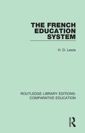 The French Education System book cover