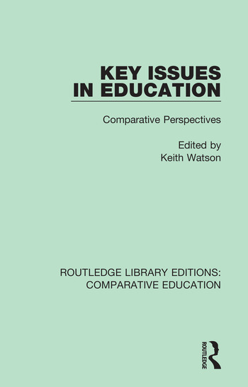 Key Issues in Education Comparative Perspectives book cover