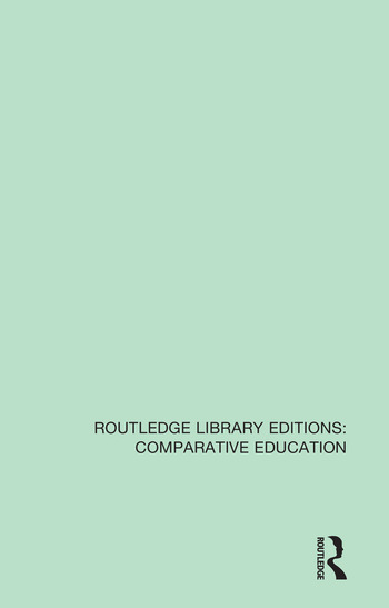 Contemporary Issues in Comparative Education A Festschrift in Honour of Professor Emeritus Vernon Mallinson book cover