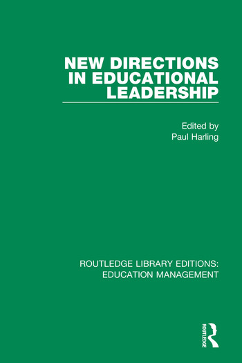 New Directions in Educational Leadership book cover