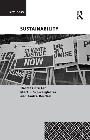 Sustainability book cover