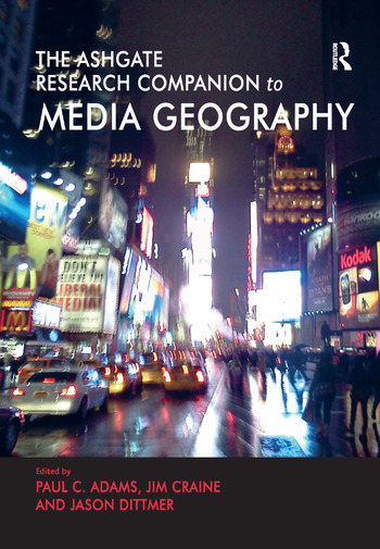 The Routledge Research Companion to Media Geography book cover