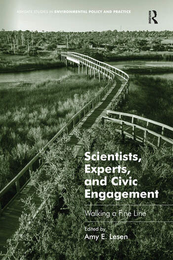 Scientists, Experts, and Civic Engagement Walking a Fine Line book cover
