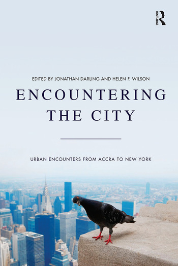 Encountering the City Urban Encounters from Accra to New York book cover