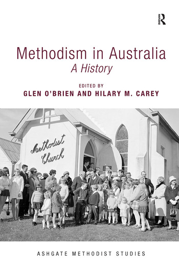 Methodism in Australia A History book cover