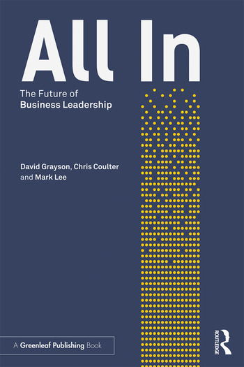 All In The Future of Business Leadership book cover