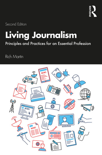 Living Journalism Principles and Practices for an Essential Profession book cover