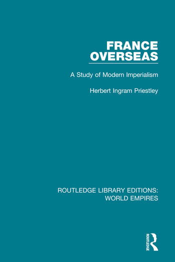 France Overseas A Study of Modern Imperialism book cover