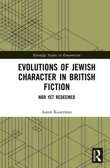 Evolutions of Jewish Character in British Fiction Nor Yet Redeemed book cover