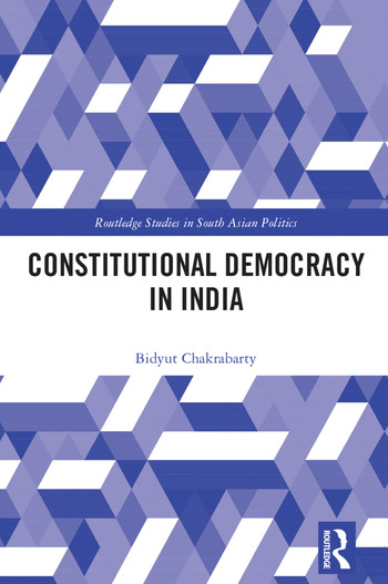 Constitutional Democracy in India book cover