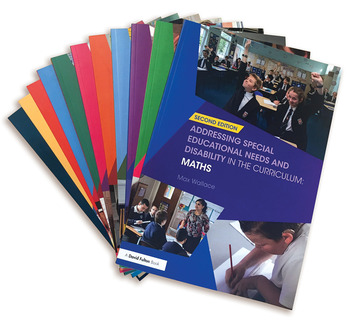 Addressing Special Needs and Disability in the Curriculum 11 Book Set book cover