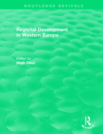 Routledge Revivals: Regional Development in Western Europe (1975) book cover