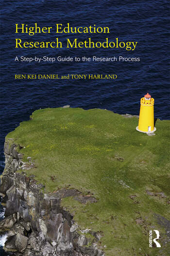 Higher Education Research Methodology A Step-by-Step Guide to the Research Process book cover