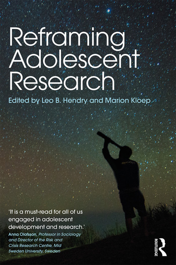 Reframing Adolescent Research book cover