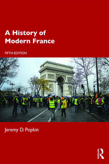 A History of Modern France book cover