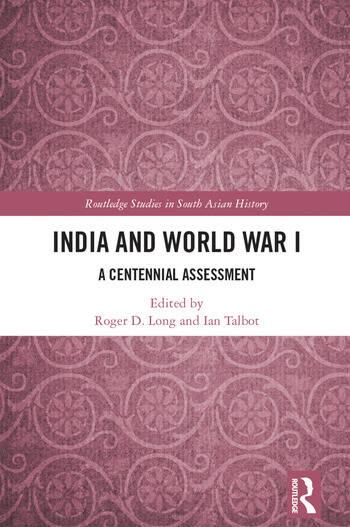 India and World War I A Centennial Assessment book cover