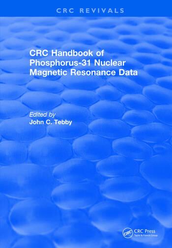 Revival: Handbook of Phosphorus-31 Nuclear Magnetic Resonance Data (1990) book cover