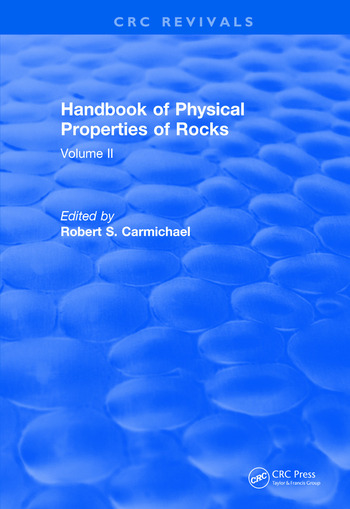 Revival: Handbook of Physical Properties of Rocks (1982) Volume II book cover