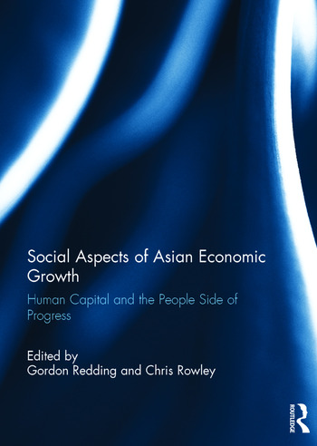 Social Aspects of Asian Economic Growth Human capital and the people side of progress book cover
