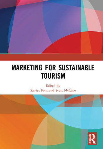 Marketing for Sustainable Tourism book cover