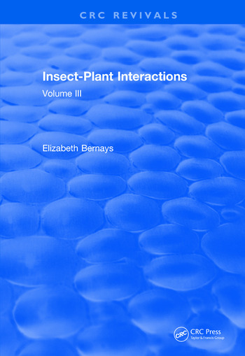 Revival: Insect-Plant Interactions (1990) Volume III book cover