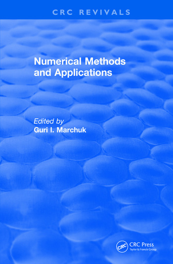 Revival: Numerical Methods and Applications (1994) book cover