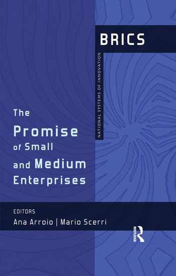 The Promise of Small and Medium Enterprises BRICS National Systems of Innovation book cover
