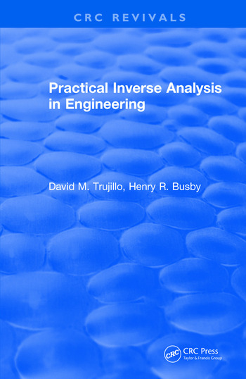 Revival: Practical Inverse Analysis in Engineering (1997) book cover