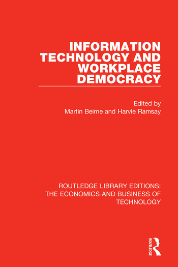 Information Technology and Workplace Democracy book cover