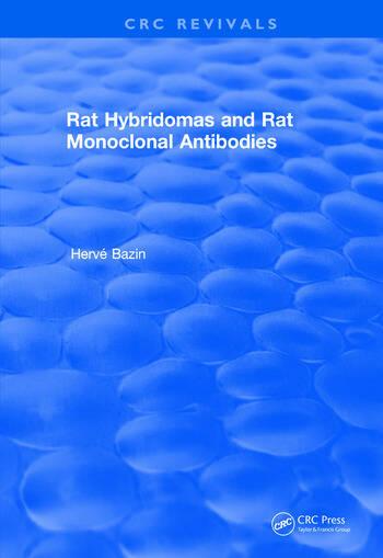 Revival: Rat Hybridomas and Rat Monoclonal Antibodies (1990) book cover