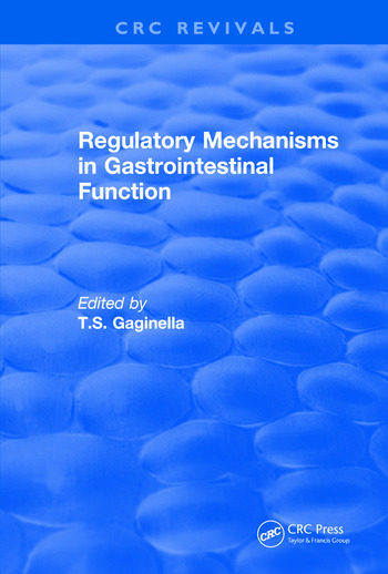 Revival: Regulatory Mechanisms in Gastrointestinal Function (1995) book cover