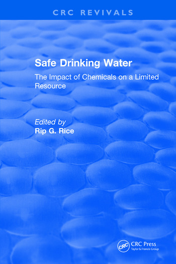 Revival: Safe Drinking Water (1985) The Impact of Chemicals on a Limited Resource book cover