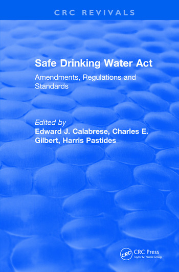 Revival: Safe Drinking Water Act (1989) book cover