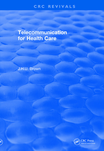 Revival: Telecommunication for Health Care (1982) book cover