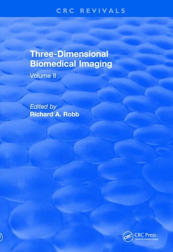 Revival: Three Dimensional Biomedical Imaging (1985) Volume II book cover