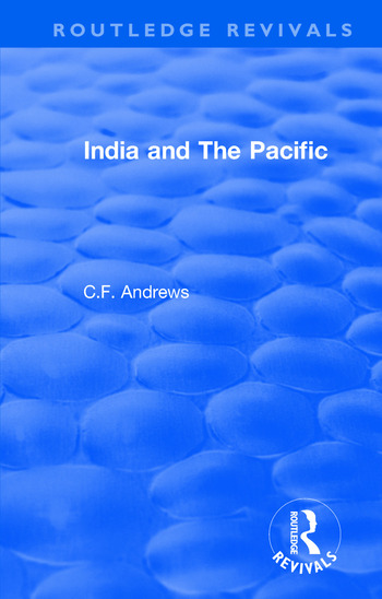 Routledge Revivals: India and The Pacific (1937) book cover