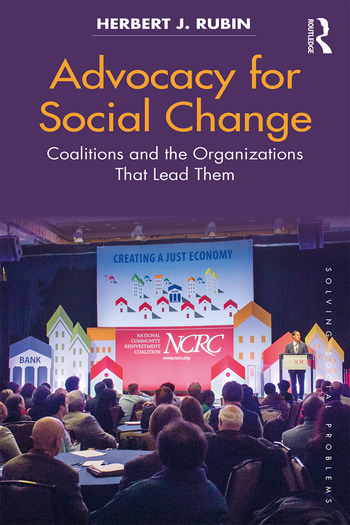 Advocacy for Social Change Coalitions and the Organizations That Lead Them book cover